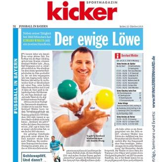 Presseartikel BERNHARD WINKLER Kicker Sportmagazin 560x560